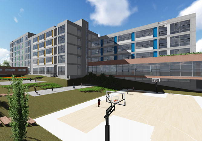 Özel Okul Binası ve Spor Tesisi
